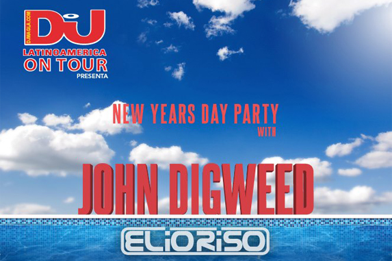 DJ MAG on tour presenta: John Digweed New Year´s Day Party