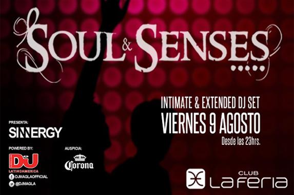 INTIMATE & EXTENDED SET de Soul & Senses :: 9 de agosto @ La Feria